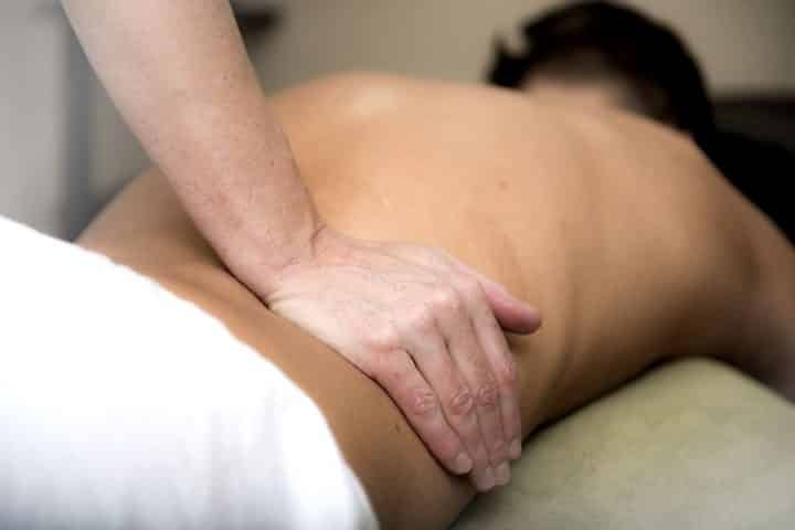 Une table de massage pliant à domicile: génial!